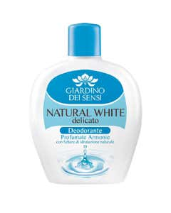 deodorante squeeze natural white ml 100