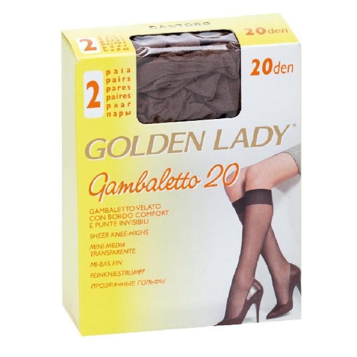 5 PAIA COLLANT BODYFORM 20 GOLDEN LADY TAGLIA 2  COLORE DAINO