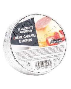 Vaschette in alluminio Formato Crème Caramel e Muffin