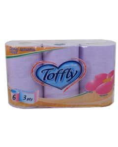 carta igienica color lilla 6 rotoli