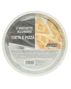 Vaschette in alluminio Formato Torta e Pizza