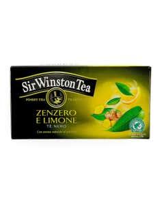Tea Zenzero e limone tè nero 20 pz