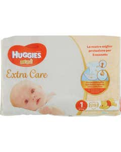 Extra Care Bebè Pannolini 1 2-5 kg 28 pz