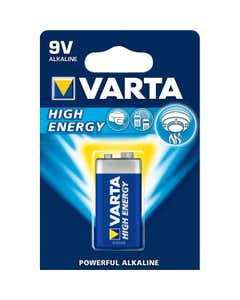 batterie high energy alkaline 9w blu pezzi 1 4922
