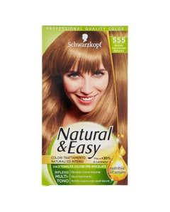Natural&Easy Colorazione Capelli 555 Biondo Scuro Dorato Naturale