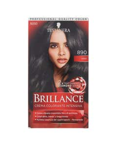 brillance colorazione capelli nero 890
