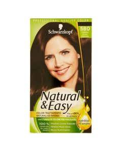 Natural&Easy Colorazione Capelli 580 Castano Scuro Naturale