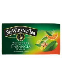 Tea Zenzero e arancia tè verde 35g