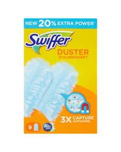 Swiffer Duster Catturapolvere - Ricarica 9 Piumini per spolverare con Profumazione Ambi Pur