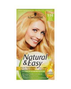 Colorazione Capelli Natural&Easy 536 Biondo Dorato Naturale