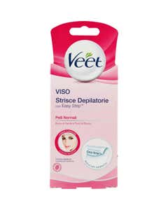 Viso Strisce Depilatorie con Easy Strip Pelli Normali 16 pz.