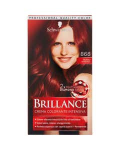 Brillance Crema Colorante Intensiva 868 Rosso Intenso