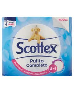 Scottex Pulito Completo 4 pz
