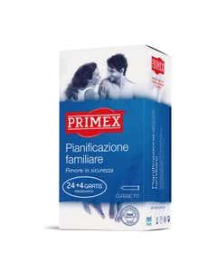 Primex Planificazione familiare 24 + 4 Gratis preservativi