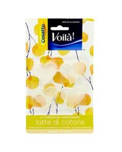 Cuoricini profumati latte di cotone 4 pz