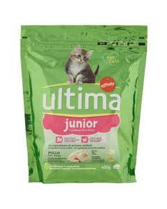 Alimento Gatti Junior con Pollo 400g
