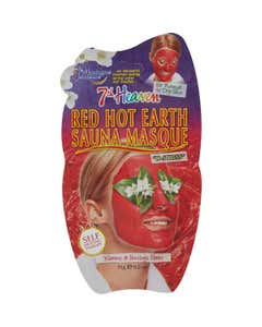 Maschera sauna anti-stress con argilla rossa 15gr