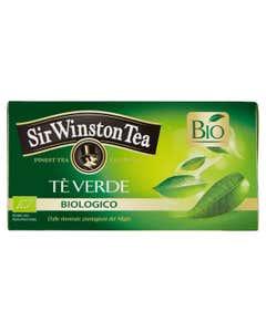 Tè Verde da Agricoltura Biologica 20 pz