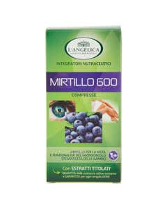 Integratori Nutraceutici Mirtillo 600 75 Compresse 22,5 g