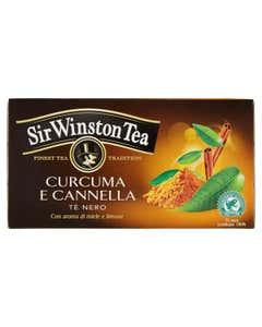 Tè Nero Curcuma e Cannella 20 pz