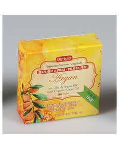 Sapone vegetale senza olio di palma argan 100 g