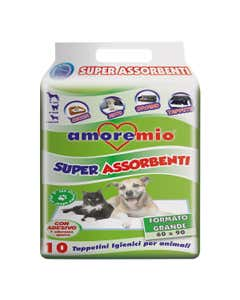 Super Assorbenti Tappetini Igienici Animali 10 pz