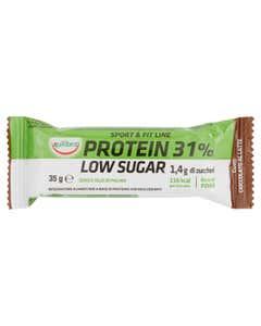 equilibra Sport & Fit Line Protein 31% Low Sugar Gusto Cioccolato al Latte 35 g