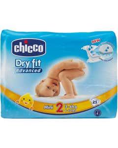 Dry Fit Advanced Diapers Mini 25X10
