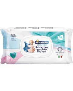 salviettine igieniche sensation 72 pz