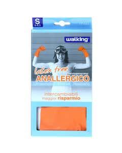 Latex Free anallergico guanti satinati taglia S 1 paio