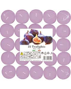 Set tealights profumati Fico 25pz