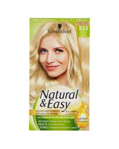 Colorazione Capelli Natural&Easy 522 Biondo Chiaro Argento
