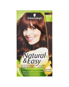 Colorazione capelli castano rosso 576