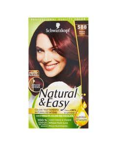Natural&Easy Intense Naturals colorazione capelli 588 Rosso Scuro