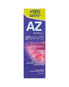 AZ Ricerca Dentifricio 3D White Ultra White 65 ml + 10ml