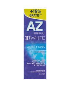AZ Ricerca Dentifricio 3D White White&Cool 65 ml + 10ml