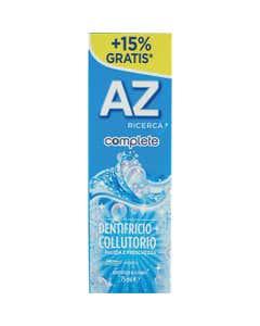 AZ Ricerca Dentifricio Complete+Collutorio Pulizia e Freschezza 65 ml + 10ml