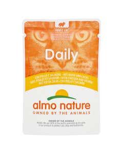 almo nature Daily Adult Cat Bocconcini con Pollo e Salmone 70 g