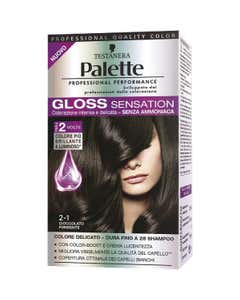 Palette Gloss Sensation 2-1 Cioccolato Fondente
