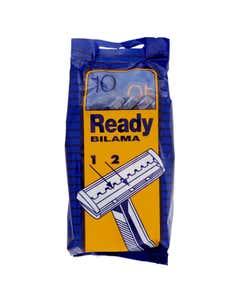 ready razor rasoio usa & getta bilama pezzi 10
