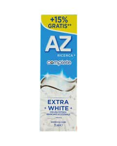 AZ Ricerca Dentifricio Complete Extra White 65 ml + 10ml