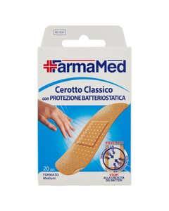 Cerotto Classico con Protezione Batteriostatica Formato Medium 20 pz
