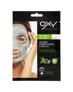 Bubble Mask Viso Azione Purificante e Detox 1 pz