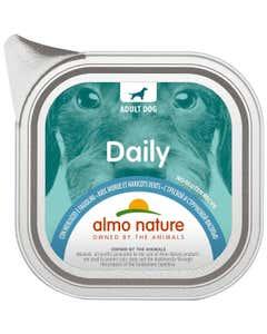 almo nature Daily Adult Dog con Merluzzo e Fagiolini 100 g