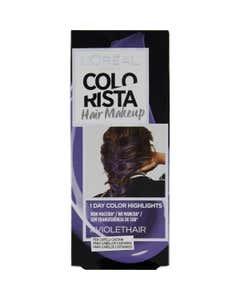 L'Oréal Paris Colorista Hair Makeup Colorazione Capelli Temporanea 1 Giorno, Violetto (Violet)