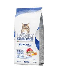 excellence per gatti sterilizzati pollo 1,5 kg