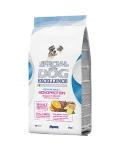 Excellence Monoprotein Medium Adult Maiale e Patate 3Kg