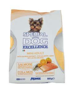 Special Dog Excellence Mini Adult con Salmone e Riso 800 g