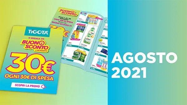 Volantino Tigotà Funo con le offerte di detersivi, cosmetici, prodotti per la casa e la persona.