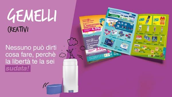 Volantino Tigotà Calusco d'Adda con le offerte di detersivi, cosmetici, prodotti per la casa e la persona.